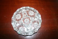 Vintage Crystal Ashtray Châteauguay