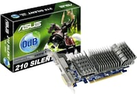 ASUS 1GB DDR3 silent video card Toronto, M1P 0A9