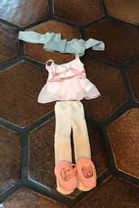 American Girl doll ballet outfit  Calgary, T2V 2C5