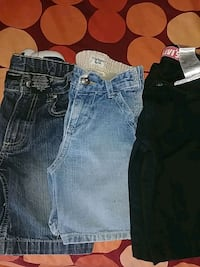 Jean shorts boys 3 for $12 Toronto, M9A 4M8
