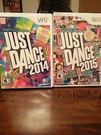 Wii Just Dance 2014 and 2015 Vancouver, V6P 4M9