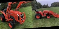 "Kubota Tractor Loader 3901 With 72"" Frontier Mower 2014 Model - Contact me to my email: bowmans393 @ G M A I L . C O M  PITTSBURGH"