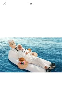 Colonel sanders pool float Ridley Park