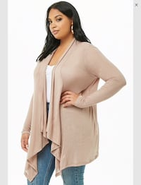 Plus size brand new open front cardigan. Calgary, T3G 4E1