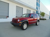 2006 Jeep Liberty Sport 4WD AUTOMATIC AIR ALLOY WHEELS NEW WESTMINSTER