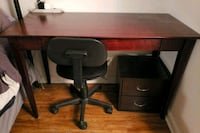 Desk and chair  15 mi