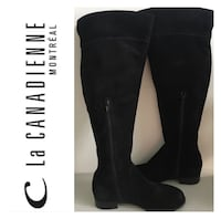 LA CANADIENNE Thigh High Boots: Size 7 (New Condition) Toronto, M1L 3Z5