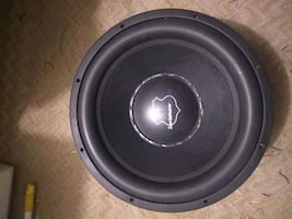 "15"" Incriminator Audio car subwoofer"