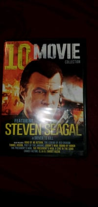 10 movie disc of Steven Seagal Liverpool, 13088