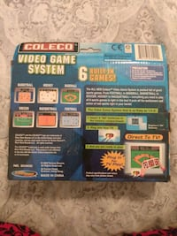 Coleco video game system, plug and play