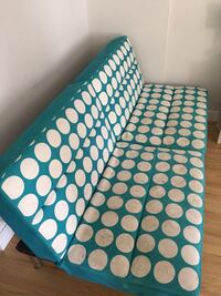Teal and White Polka Dot Day Bed Hazlet Township, 07734