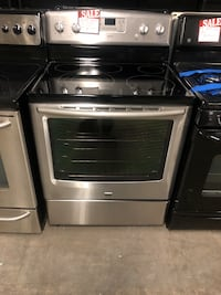 Maytag convection oven stainless steel