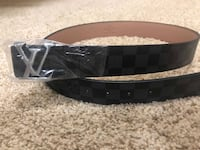 Black and silver Louis Vuitton Belt Surrey, V3T 3P7
