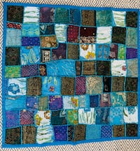 BRAND NEW!  HANDMADE PATCHWORK TAPESTRY / TABLE COVER