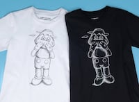 Kaws Holiday Japan Mt Fuji WHITE T-shirt SIZE LARGE. Toronto, M3J