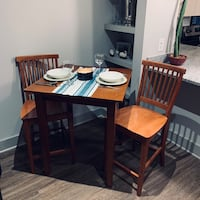 MUST GO beautiful wood table and chairs set!  Raleigh, 27607