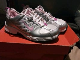 Brand new in box Girls Nikes 4Y