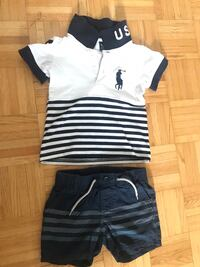 Baby 12-18m polo and gap set Toronto, M9C 2A6