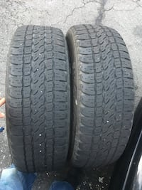 2 tires 235/65r17$60 Sterling, 20166