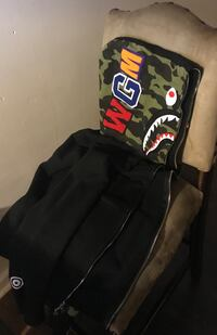 Bape hoodie, zip up, didn't fit me. Retail price : $548.00 selling for 350 Douglasville, 30135
