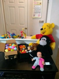 "All in 10$.Pooh bear22"" and other assorted toys Morrisville, 27560"
