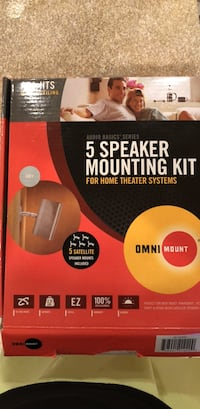 5 Speaker Mounting Kit Somerset, 20815