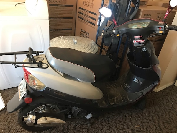 Eco - Ice bear YN50QT-8 Scooter