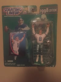 Starting Lineup 1998 Edition football player action figure Pearl, 39208