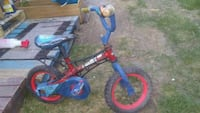 toddler's blue and red bicycle Kamloops