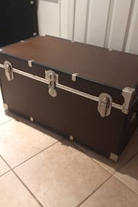 Storage trunk with wheels Herndon, 20171