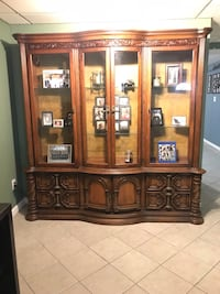 Large wood hutch  Medford, 11763