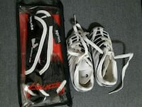 Soccer cleats size 9 for small kids with pads Burnaby, V3N 3Z7