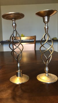 Brass Candle Stands Whitby, L1R 3E5