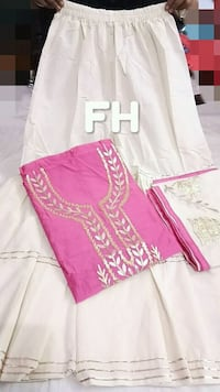 women's pink and white long sleeve dress Hyderabad, 500028