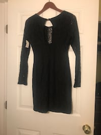 Charlotte Russe black long sleeved lace dress. Size L Owings Mills, 21117