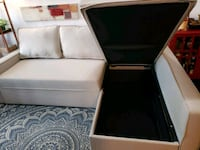 Sectional couch with pull-up bed and storage in  Toronto, M5V 4A2