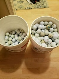 2, 5 gallon buckets of golf balls Baltimore, 21209