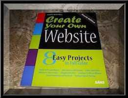 $20 CREATE YOUR OWN WEBSITE BOOK SALE Textbook Computer Learning Guide ❃ Berks County