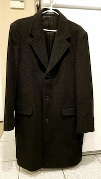 Mens Zara coat jacket winter 3/4 length size XL