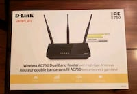 D-Link Wireless AC750 Dual Band Routet Cambridge