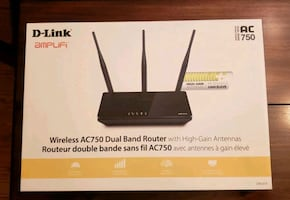 D-Link Wireless AC750 Dual Band Routet