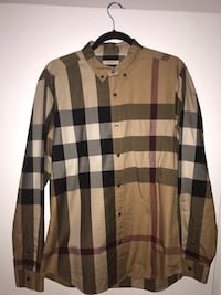 Authentic Burberry checker shirt  Toronto, M9R