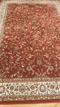 Beautiful Burgundy Carpet 10 x 7