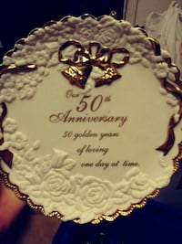 50TH ANNIVERSARY PLATE/ RARE FIND Fort Myers, 33901