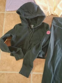 black and gray zip-up hoodie Bradford West Gwillimbury, L3Z 2W9