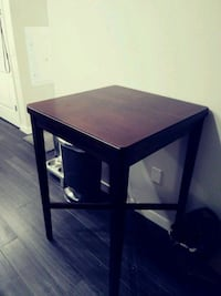 Wooden high top table
