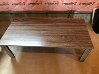 Faux Wood Coffee table w/ 2 End tables  Ramara, L0K