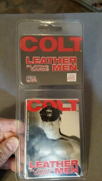 Playing Cards: Colt Leather Men Las Vegas, 89108