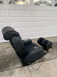 Massage chair and foot