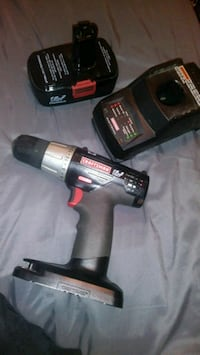 black and gray Craftsman cordless hand drill West Covina, 91792